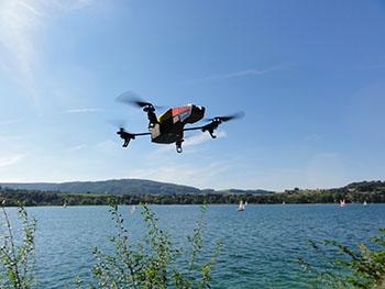 drone-flying-lake