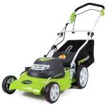 "GreenWorks 25022 12 Amp Corded 20"" Lawn Mower"