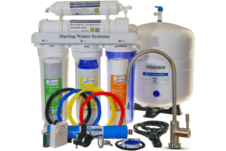 iSpring RCC7 Under Sink Water Filter Review