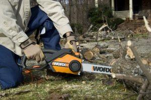 WORX WG304.1 Chainsaw Review 2