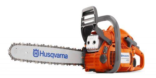 Husqvarna 455 2- Stroke Gas Powered Chainsaw Review