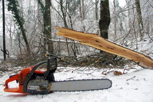who invented the chainsaw